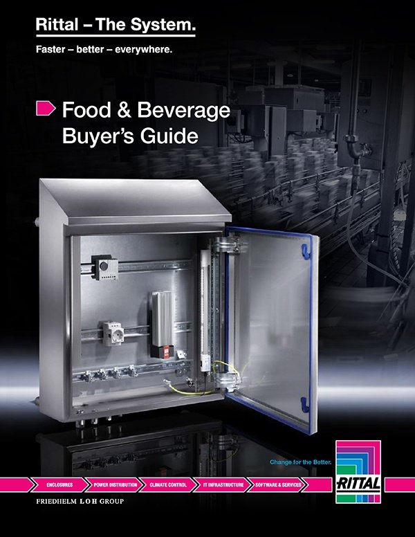Rittal Food and Beverage Buyer's Guide